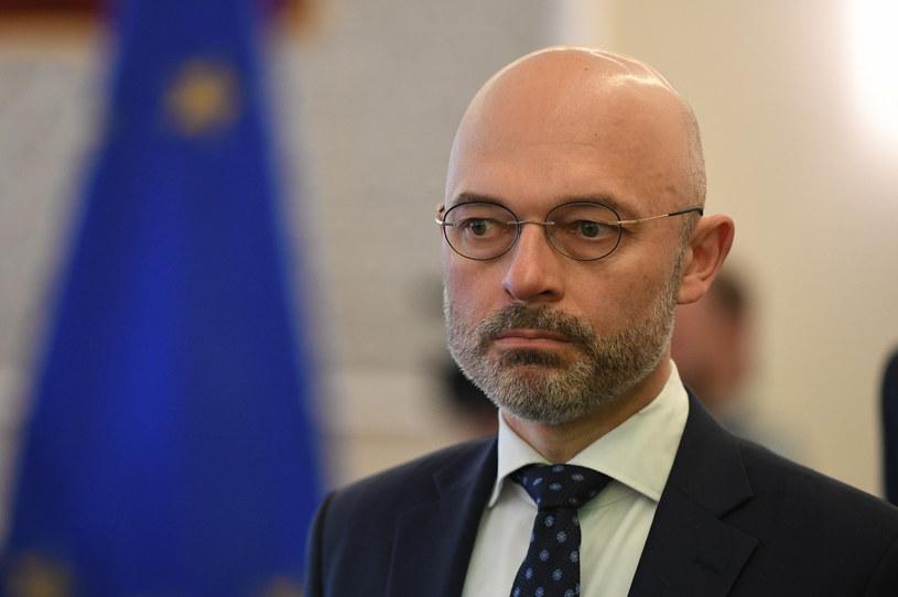 Michał Kurtyka, minister klimatu. /Rafał Oleksiewicz /Reporter