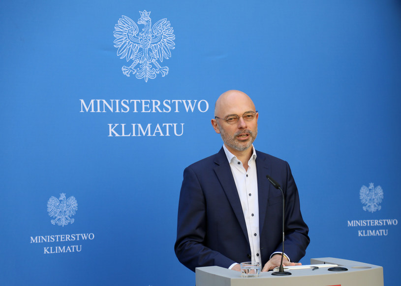 Michał Kurtyka, minister klimatu /Jakub Kaminskii /East News