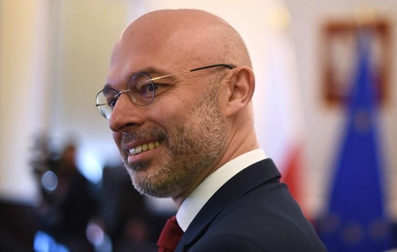 Michał Kurtyka, minister klimatu /Adam Chełstowski /Agencja FORUM