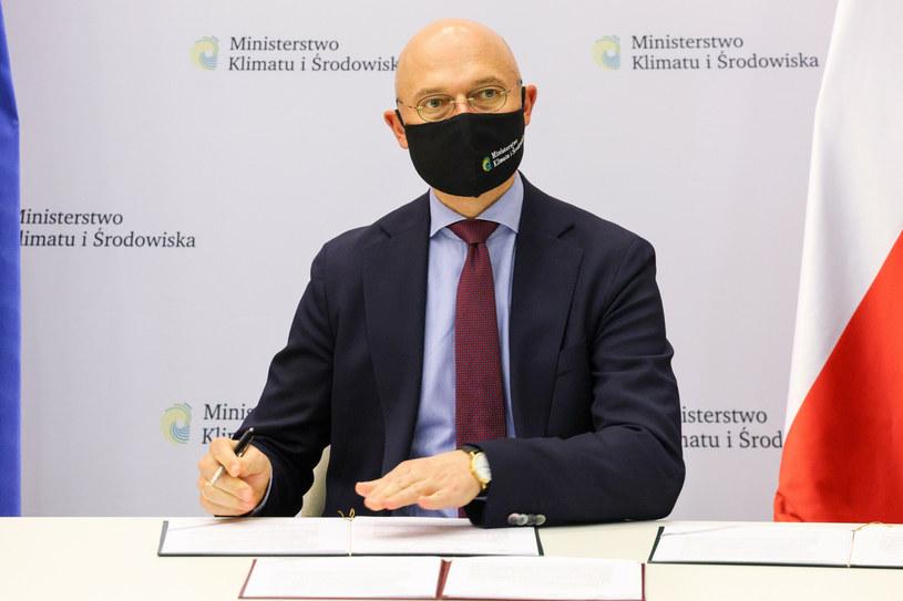 Michał Kurtyka, minister klimatu /Jacek Domiński /Reporter