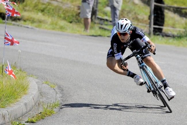 Michał Kwiatkowski w tegorocznym Tour de France wypadł gorzej niż w poprzednim sezonie /NICOLAS BOUVY  /PAP/EPA