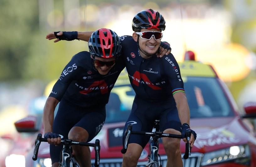 Michał Kwiatkowski wygrywa pierwszy w karierze etap Tour de France /AFP