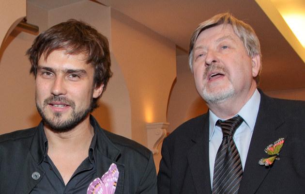 Michał L. z ojcem Zbigniewem /Paweł Przybyszewski /MWMedia