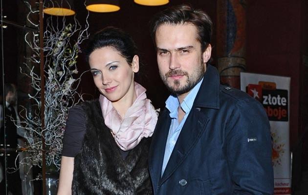 Michał Lesień i Andżelika Piechowiak, fot. Andras Szilagyi  /MWMedia