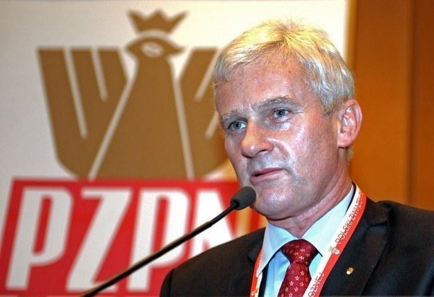 Michał Listkiewicz usłyszał zarzuty w sprawie /AFP