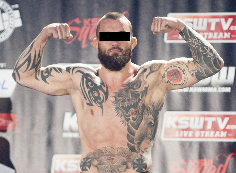 Michał M. to jeden z najbardziej znanych polskich wojowników MMA /Fot. Wojciech Strozyk /East News