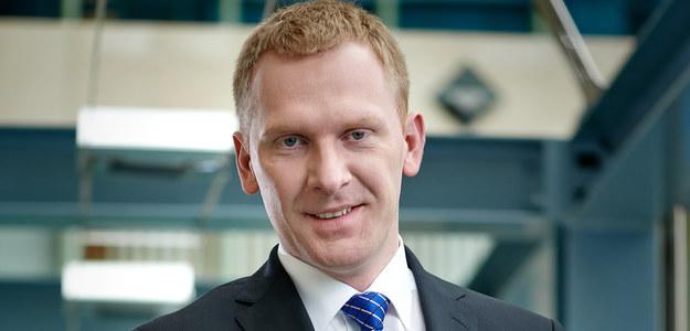 Michał Macierzyński, zastępca dyrektora Centrum Bankowości Mobilnej i Internetowej w PKO BP; źródło: PKO BP /&nbsp