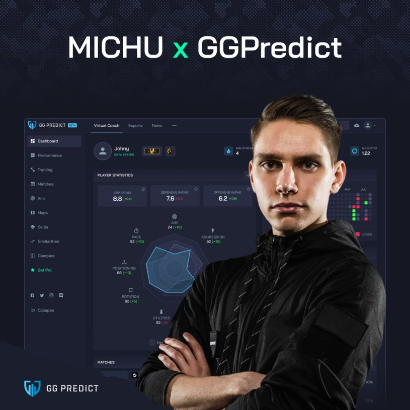 "Michał ""MICHU"" Müller /materiały prasowe"