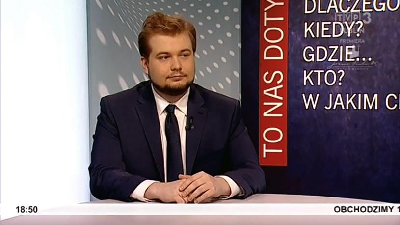 Michał Moskal został dyrektorem biura prezydium PiS /TVP