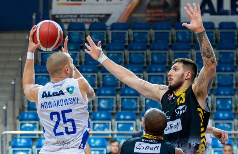 Michał Nowakowski i Dominik Olejniczak / Andrzej Grygiel    /PAP