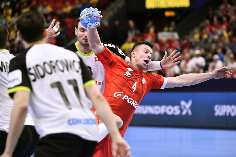 Michał Olejniczak (z piłką) /East News