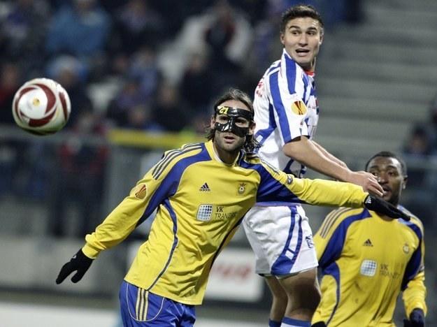 Michal Papadopulos (w środku) /- /AFP