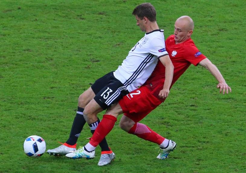 Michał Pazdan był bohaterem meczu z Niemcami /RMF FM