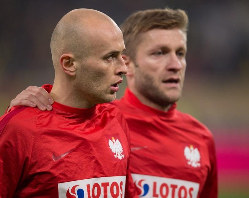 Michał Pazdan (z lewej) i Jakub Błaszczykowski (z prawej) /Konrad Paprocki /East News