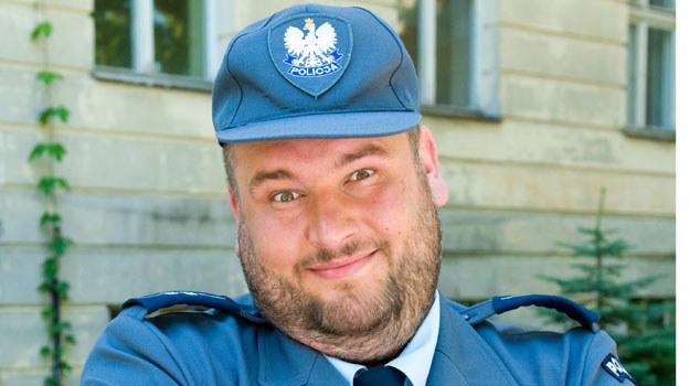 """Michał Piela, czyli aspirant Mieczysław Nocul z """"Ojca Mateusza"""". /  /Agencja W. Impact"""