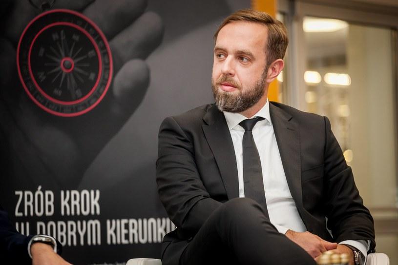Michał Potoczek, prezes Operatora Chmury Krajowej, fot. Ireneusz Rek /INTERIA.PL