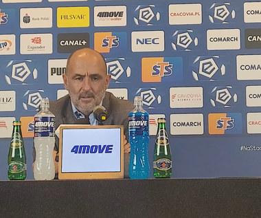 Michał Probierz po 3-3 ze Stalą Mielec. WIDEO