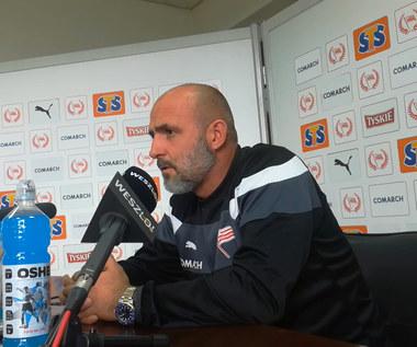 Michał Probierz przed meczem z Piastem Gliwice. Wideo