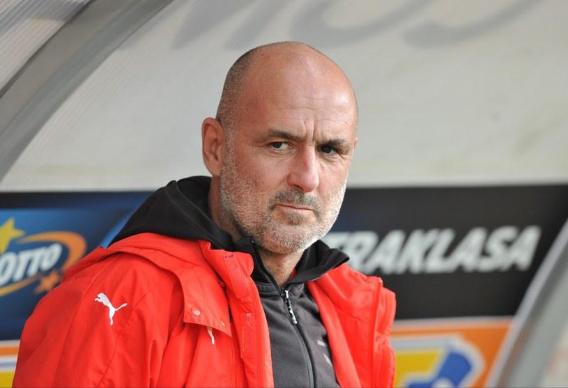 Michał Probierz, trener Cracovii /Michał Klag /East News