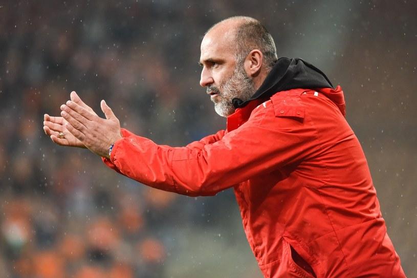 Michał Probierz, trener Cracovii /Piotr Dziurman /East News