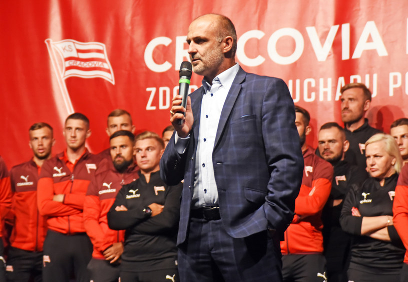 Michał Probierz, trener Cracovii /Marek Lasyk  /East News