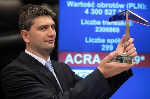 Michał Przyłęcki, prezes zarządu Acreo S.A. /PAP
