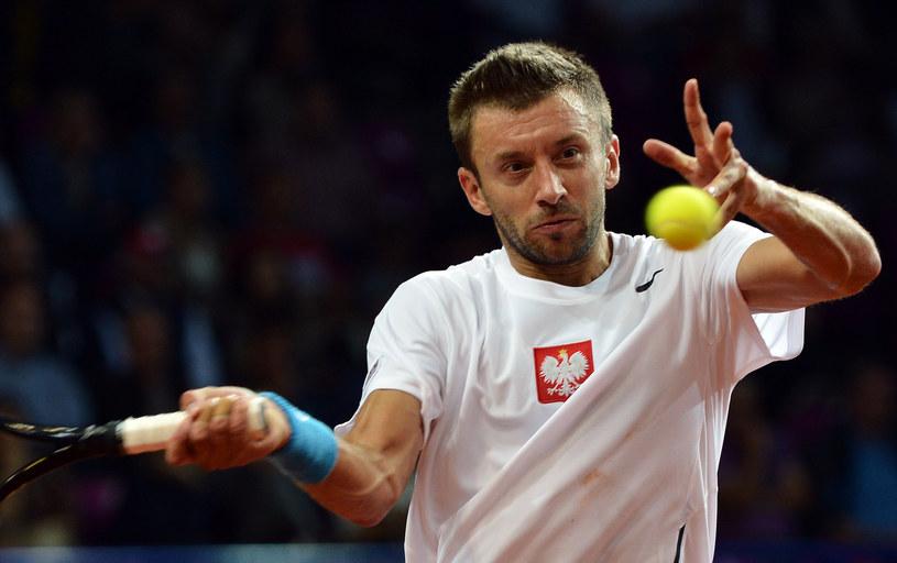 Michał Przysiężny jest w wielkiej formie. /AFP