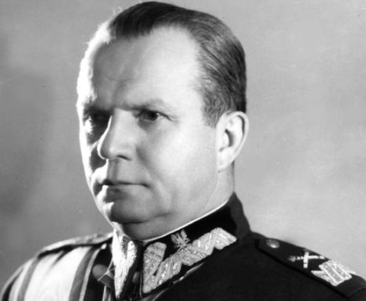 Michał Rola-Żymierski, marszałek ludowej Polski /Z archiwum Narodowego Archiwum Cyfrowego