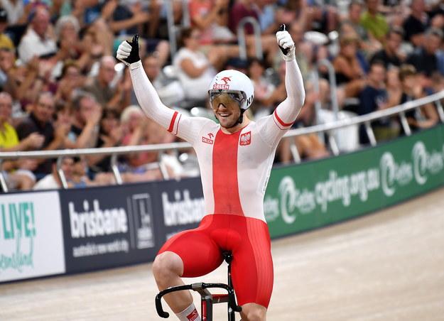 Michał Rudyk po zwycięstwie w Australii / DAN PELED /PAP/EPA