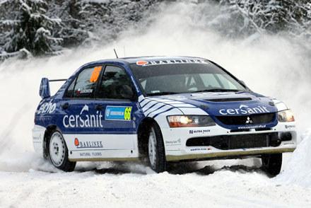 Michał Sołowow ukończył rajd na siódmym miejscu w grupie N. Fot. Marek Wicher / kliknij /INTERIA.PL