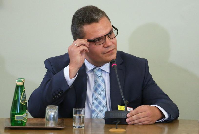 Michał Swoboda przed komisją śledczą /Paweł Supernak /PAP