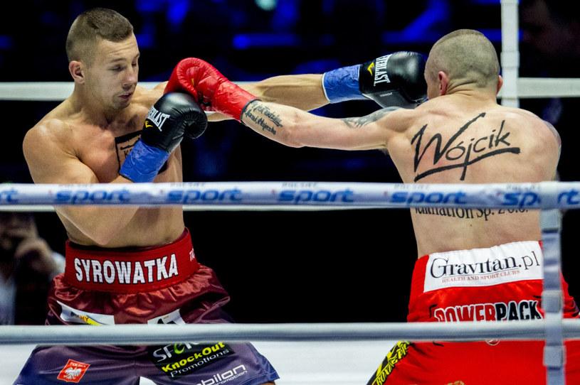 Michał Syrowatka (z lewej) /Andrzej Iwańczuk /East News