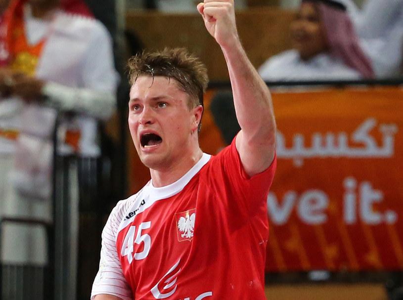 Michał Szyba podczas mistrzostw świata w Katarze /AFP