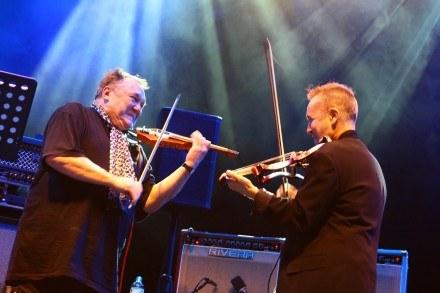 Michał Urbaniak i Nigel Kennedy fot. Małgorzata Niemiec /