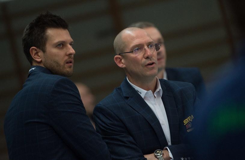 Michał Winiarski i Roberto Piazza /Fot. Grzegorz Michałowski /PAP