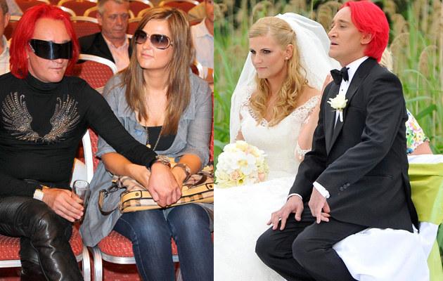 Michał Wiśniewski i Dominika Tajner trzy lata temu wzięli ślub. Teraz pora na dziecko? /Engelbrecht, Baranowski Michał /AKPA