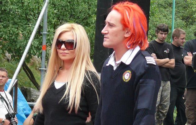 Michał Wiśniewski i Magda Femme, fot. Tomek Piekarski  /MWMedia