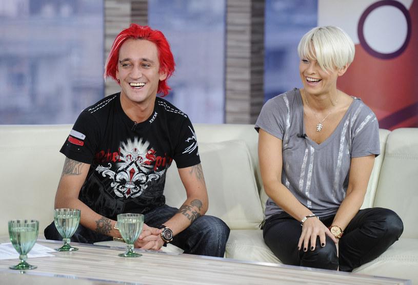 Michał Wiśniewski i Marta Mandrykiewicz wzięli ślub w 2002 roku /Piotr Blawicki /East News