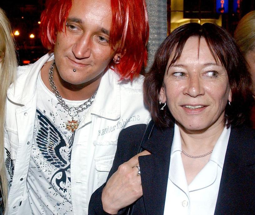 Michał Wiśniewski z mamą /Tricolors /East News