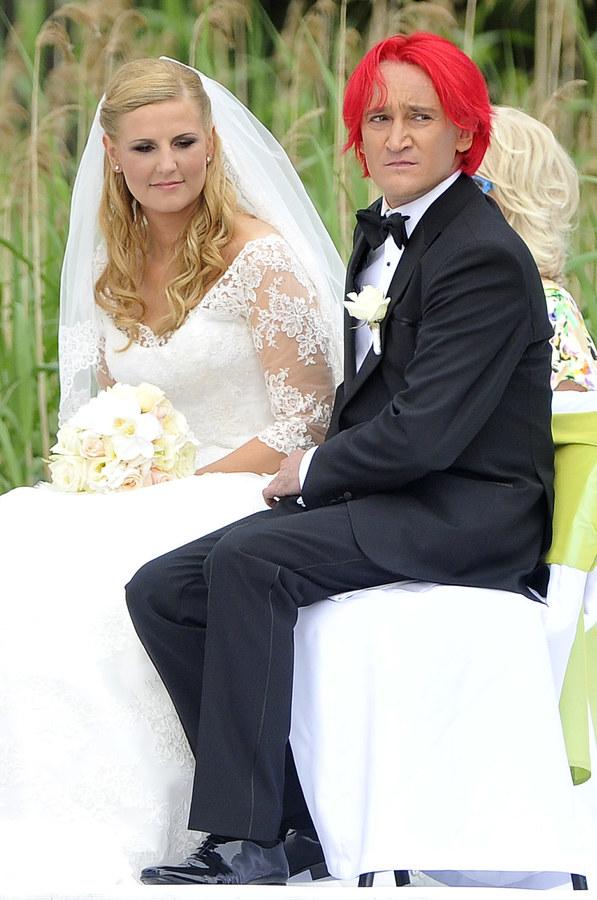 Michał Wiśniewski z żoną Dominiką /Baranowski Michał  /AKPA