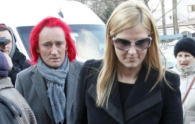 Michał Wiśniewski z żoną Dominiką /Engelbrecht /AKPA