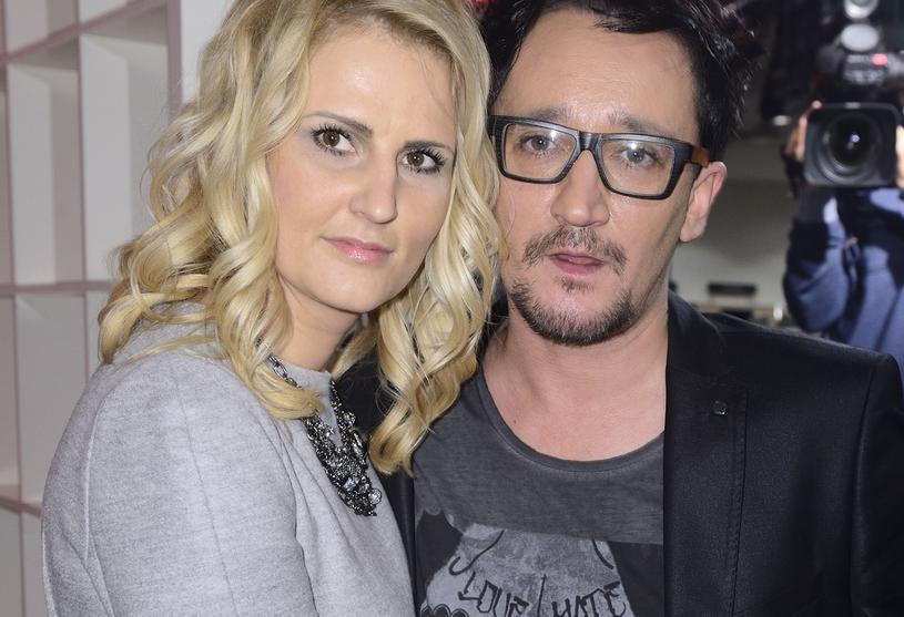 Michał Wiśniewski z żoną /Jarosław Antoniak /MWMedia