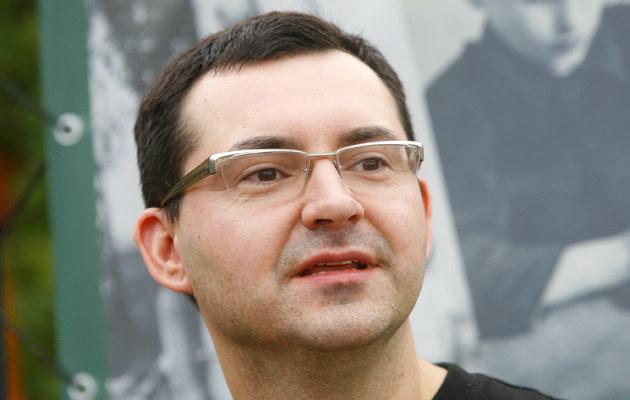 Michał Witkowski, fot.Krzysztof Kuczyk  /Agencja FORUM