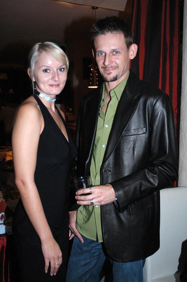 Michał Wójcik i była żona Agnieszka Kałuża /- /AKPA