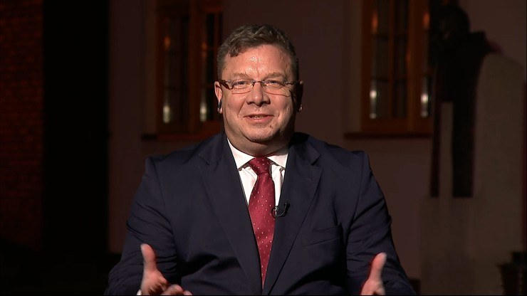 Michał Wójcik w Polsat News /Polsat News