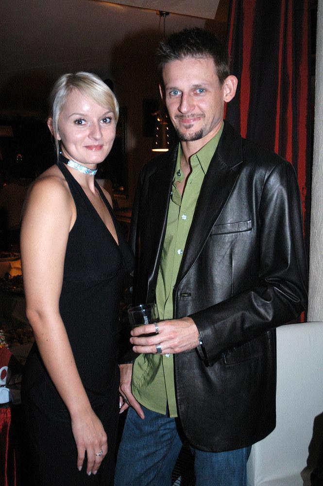 Michał Wójcik z byłą żoną Agnieszką /Kałuża /AKPA