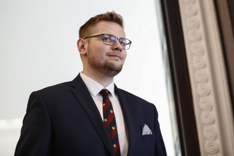 Michał Woś /Aleksandra Szmigiel /Reporter