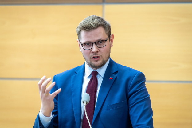 Michał Woś / Tytus Żmijewski    /PAP