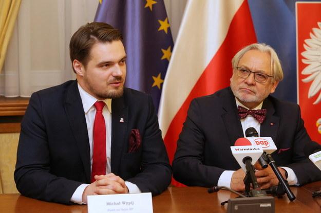 Michał Wypij i Wojciech Maksymowicz /Tomasz Waszczuk /PAP