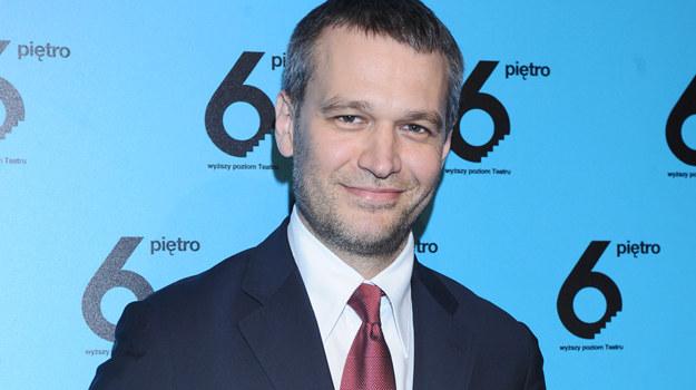Michał Żebrowski - dyrektor Teatru 6. Piętro / fot. Andras Szilagyi /MWMedia
